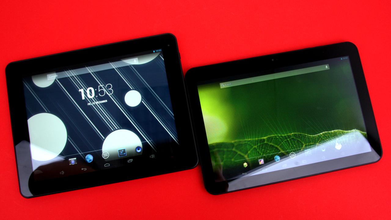 Captiva Pad 10.1 Quad FHD & 9.7 Super FHD Tablet im Test: Android-Tablets im Format 4:3 und 16:10