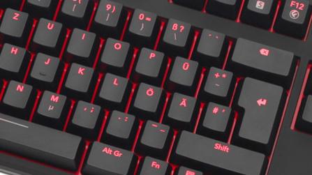 func kb 460 tastatur im test mechanisch beleuchtet 80. Black Bedroom Furniture Sets. Home Design Ideas
