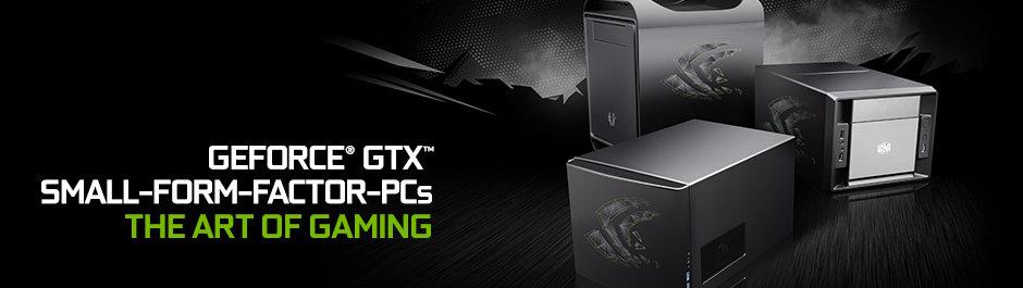 Nvidia GeForce-SFF-PCs