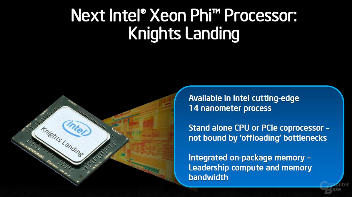 """""""Knights Landing"""" in 14 nm mit On-Package-Speicher"""