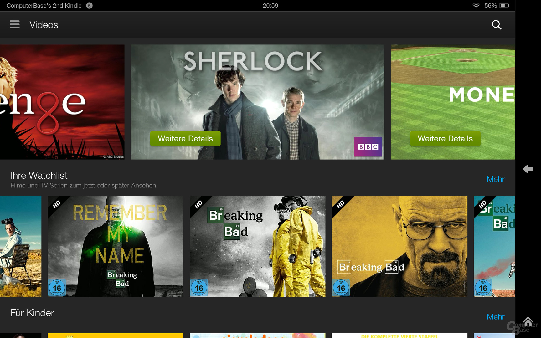 Kindle Fire OS 3.0 Videos