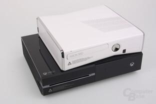 Microsoft Xbox One und Xbox 360 S