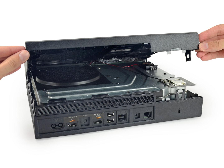 Xbox One beim Öffnen