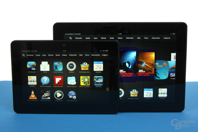 Amazon Kindle Fire HDX & HDX 8.9