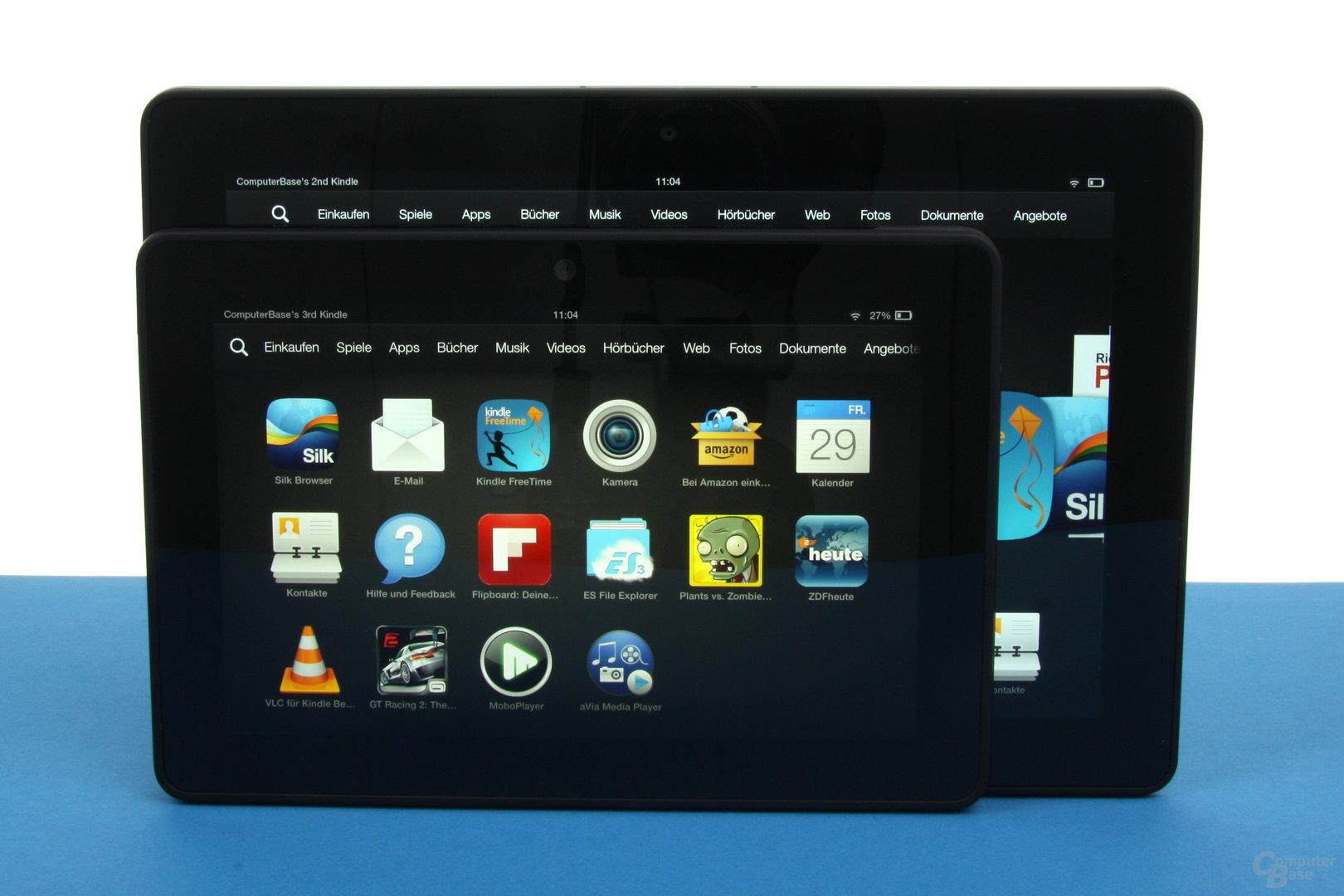 Amazon Kindle Fire HDX & HDX 8.9