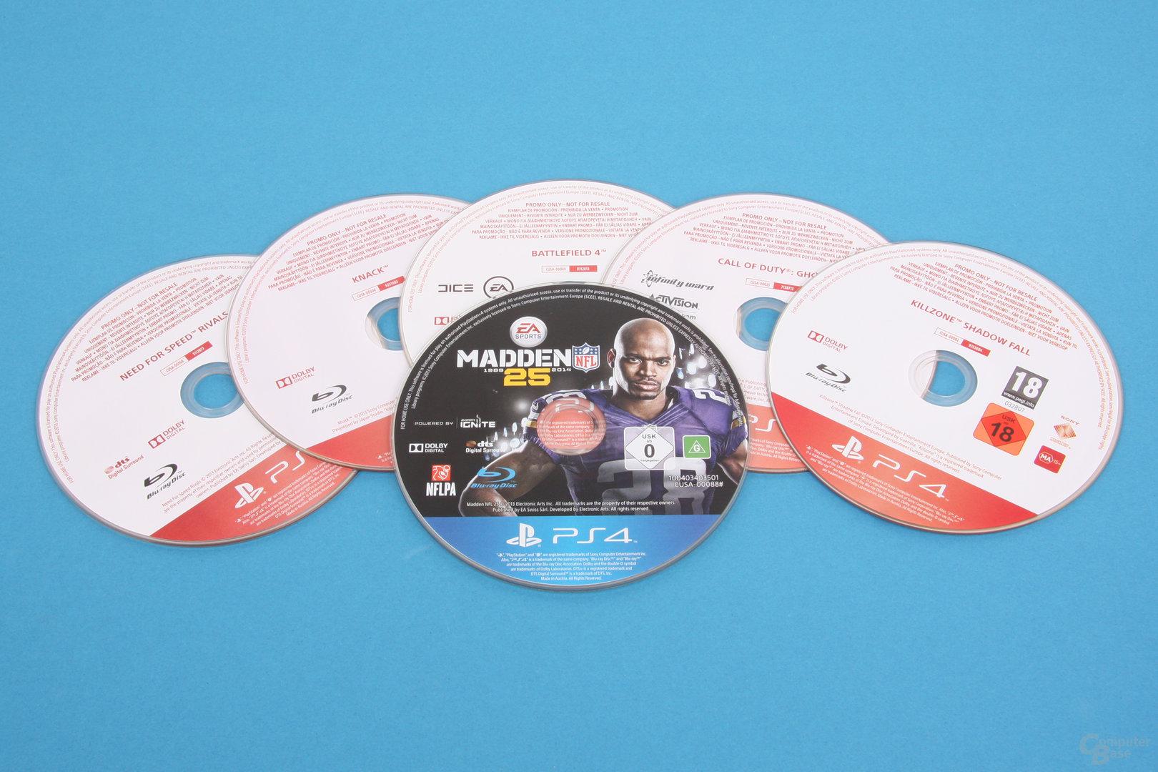 Spiele für die PlayStation 4