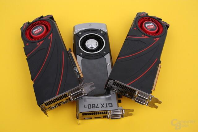 AMD Radeon R9 290(X) und Nvidia GeForce GTX 780 Ti