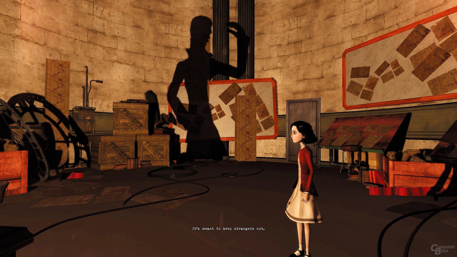 Interaktion zwischen 2D und 3D
