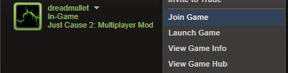 JC2-MP Steam Integration