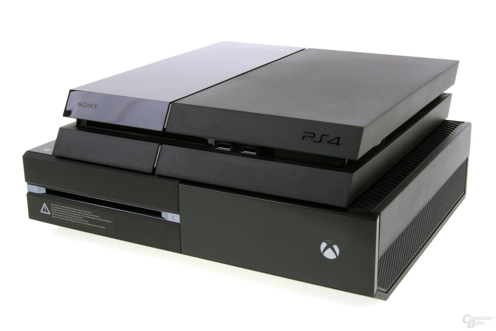 Sony PlayStation 4 im Vergleich zur Xbox One