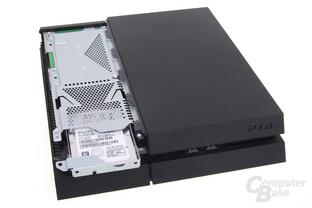 PlayStation 4: Austausch der Festplatte