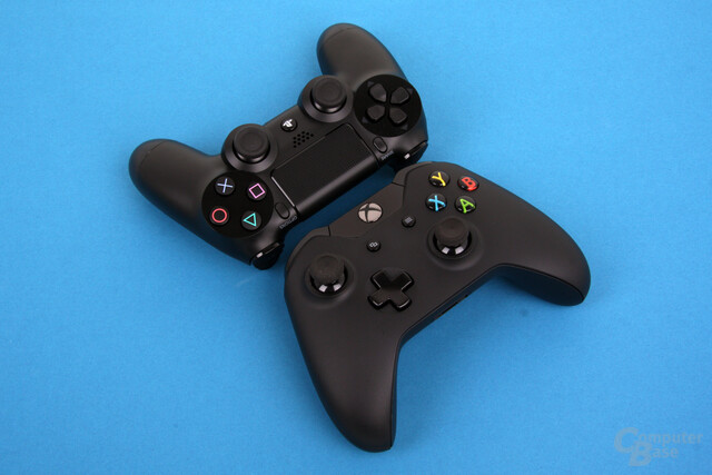 PlayStation 4: Dualshock 4 und Xbox One Controller