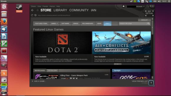 Steam unter Ubuntu