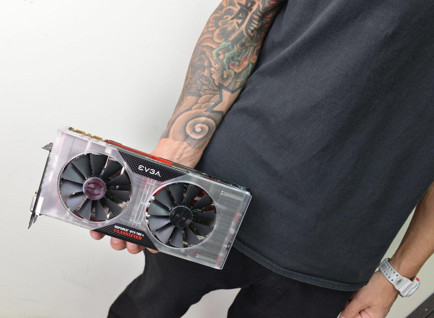 EVGA GeForce GTX 780 Ti Classified Kingpin Edition