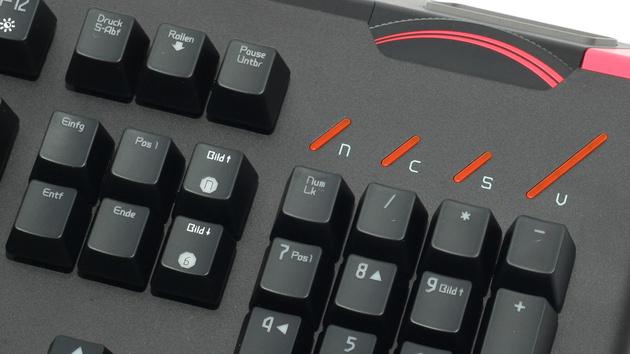 EpicGear DeziMator im Test: Gaming-Tastatur im Racing-Look