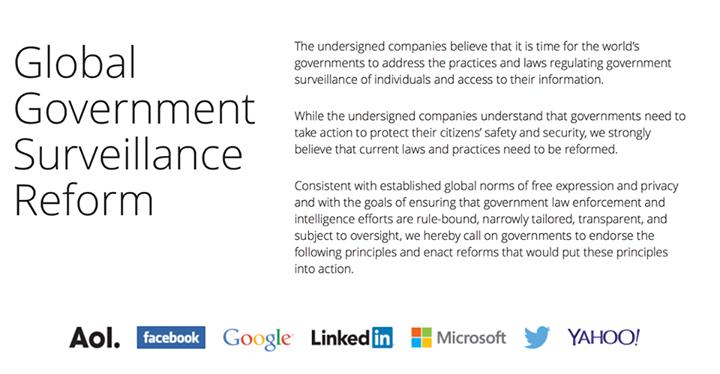 Offener Brief: Internet-Überwachung soll reformiert werden.