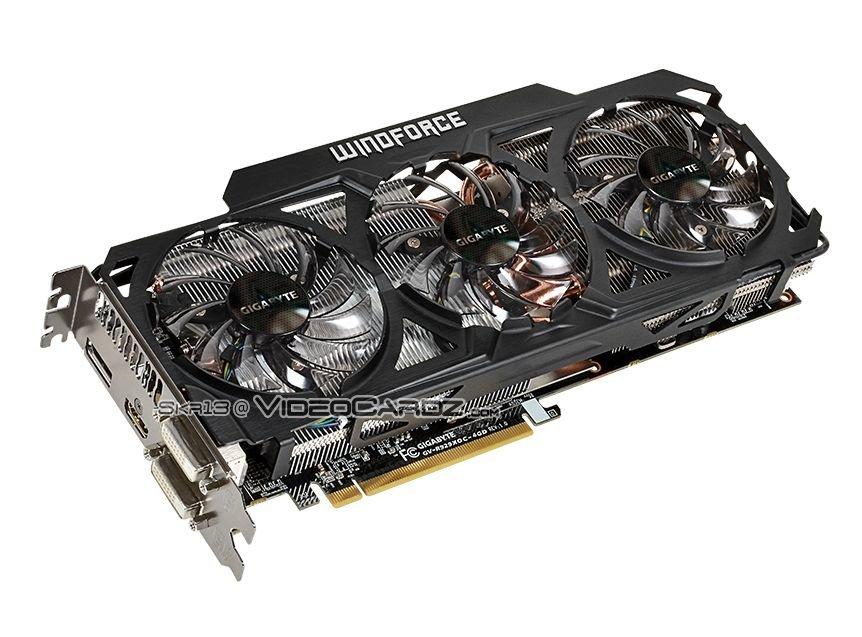 Gigabyte Radeon R9 290(X) OC WindForce 3X