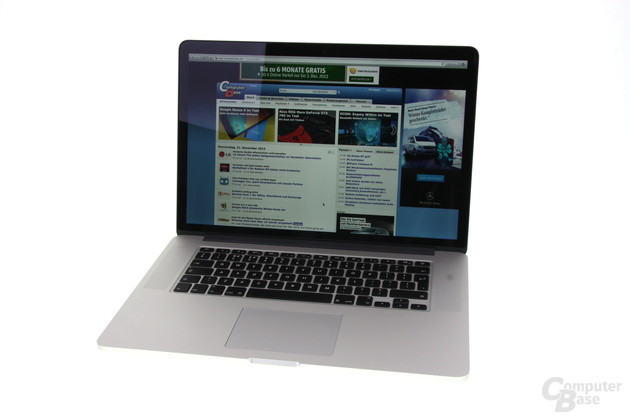 Das 2013er Apple MacBook Pro 15 Zoll
