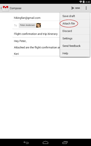 Neue Funktionen der GMail-App