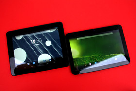 Captiva Pad 10.1 Quad FHD, 9.7 Super FHD im Test