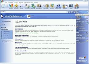 MSN 8 Spamfilter