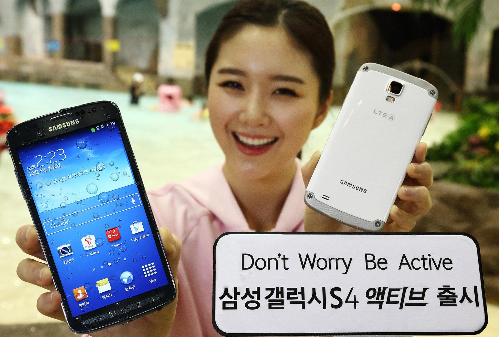 Galaxy S4 Active mit LTE-A