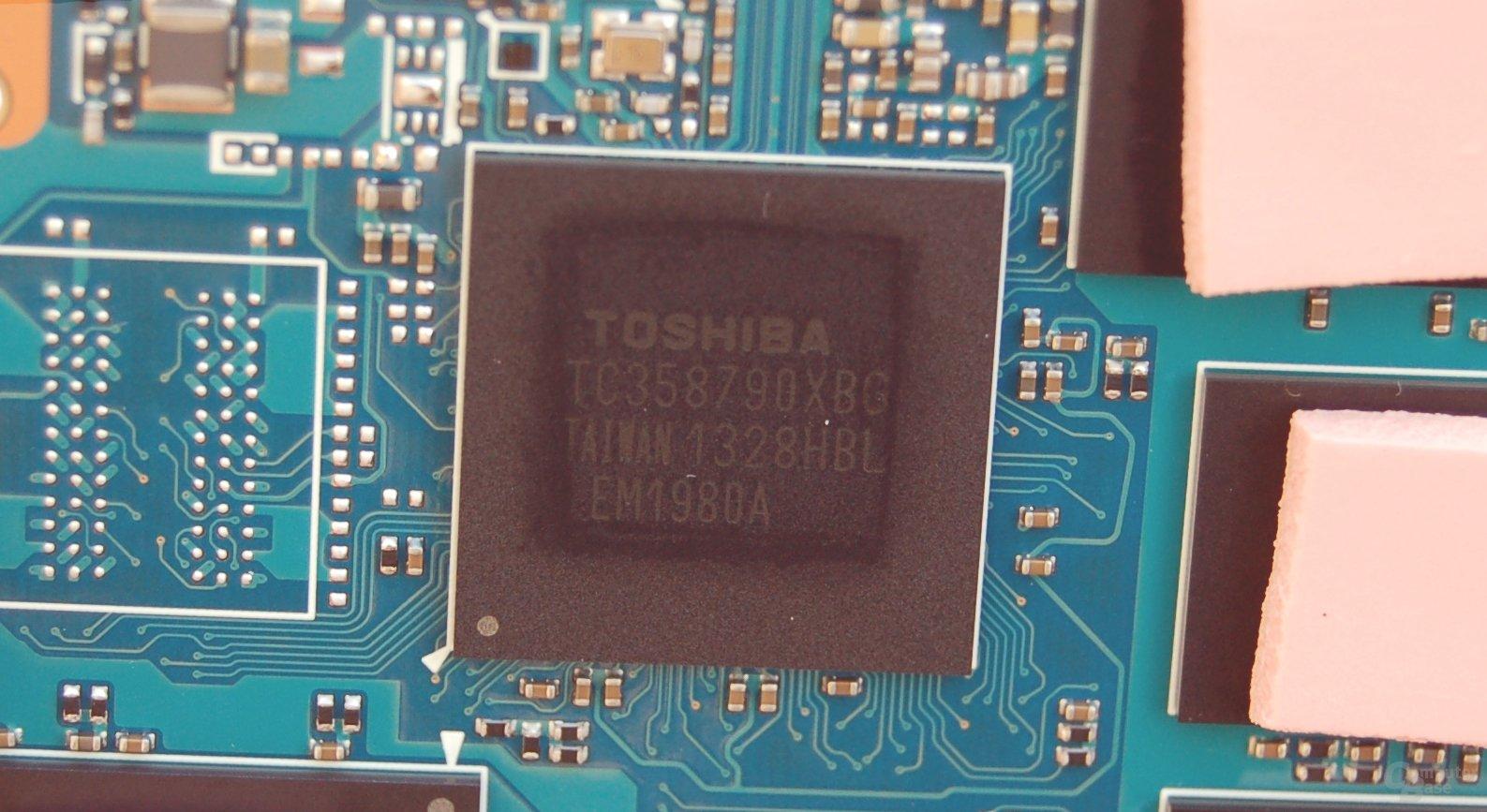 TC358790XBG-Controller von Toshiba