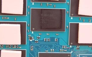 In 19 nm gefertigter MLC-Baustein von Toshiba