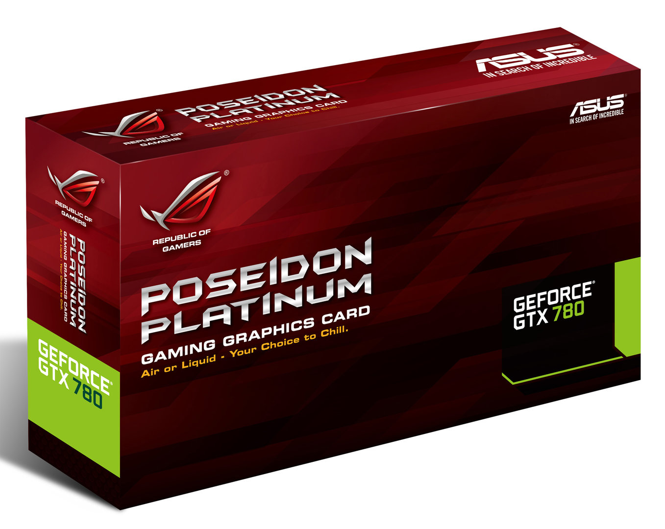 Asus Poseidon GTX 780 mit Hybridkühler