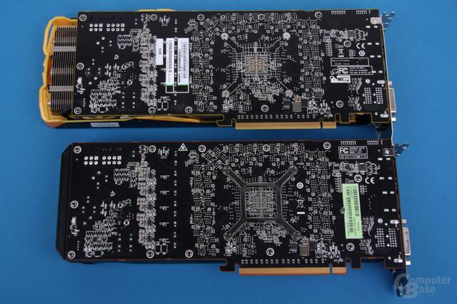 Sapphire Radeon R9 290 Tri-X OC über dem Referenzdesign
