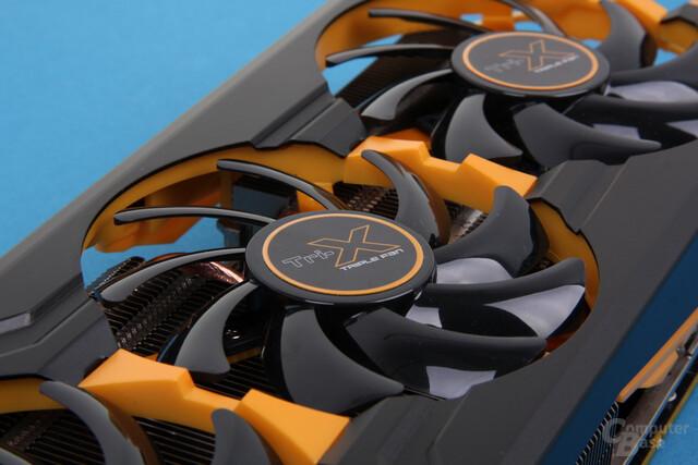 Kühler der Sapphire Radeon R9 290 Tri-X OC
