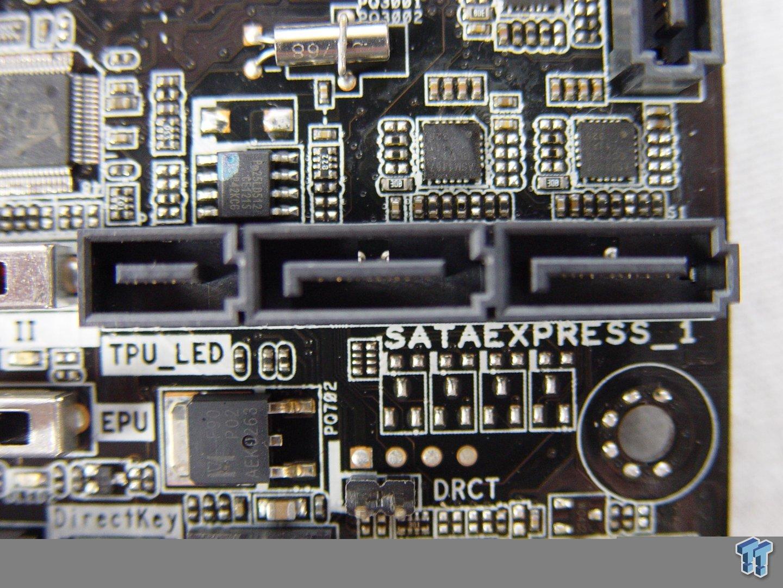 Asus-Mainboard mit SATA Express