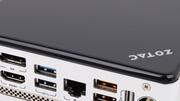 """Zotac Zbox nano AQ01 Plus mit AMD """"Kabini"""" im Test: Mini-PC mit vier Kernen auf Sparflamme"""