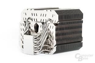 Acht 6-mm-Heatpipes sorgen beim HR-22 für die nötige Grundleistung