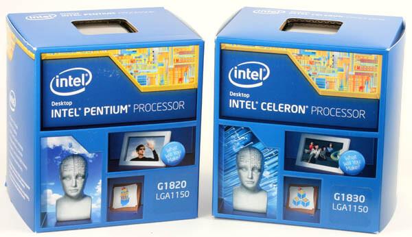 Intel Celeron G1820 und Celeron G1830