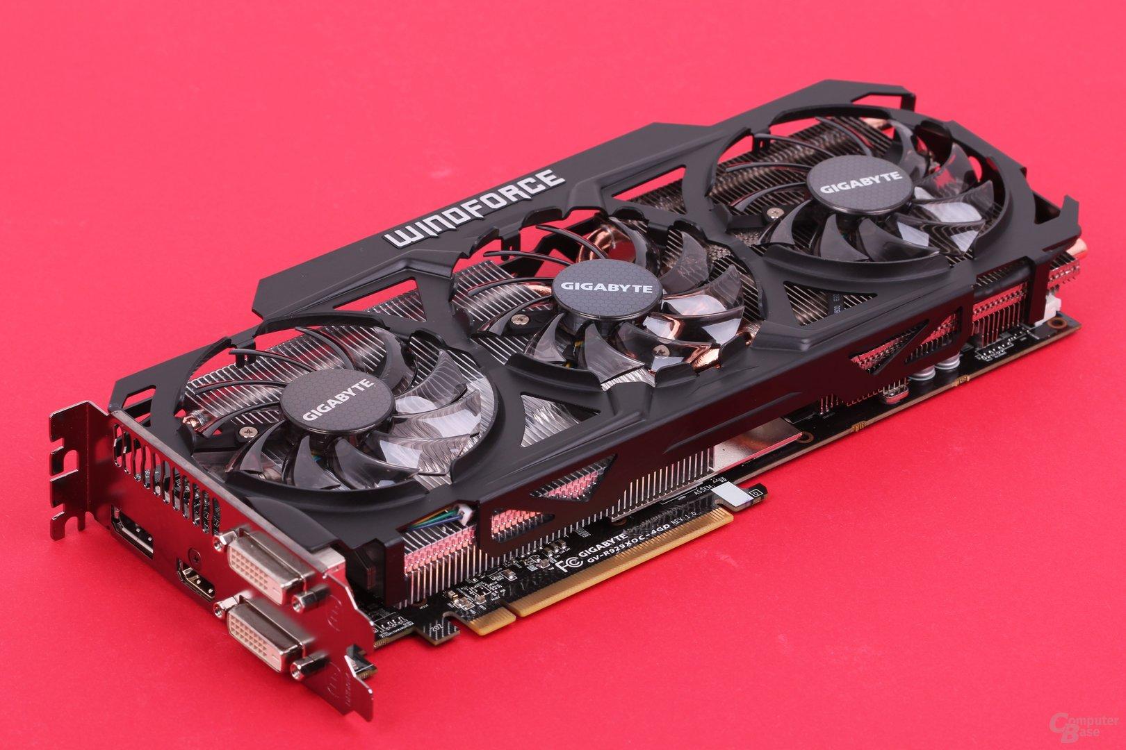Gigabyte Radeon R9 290X WindForce - Kühlsystem