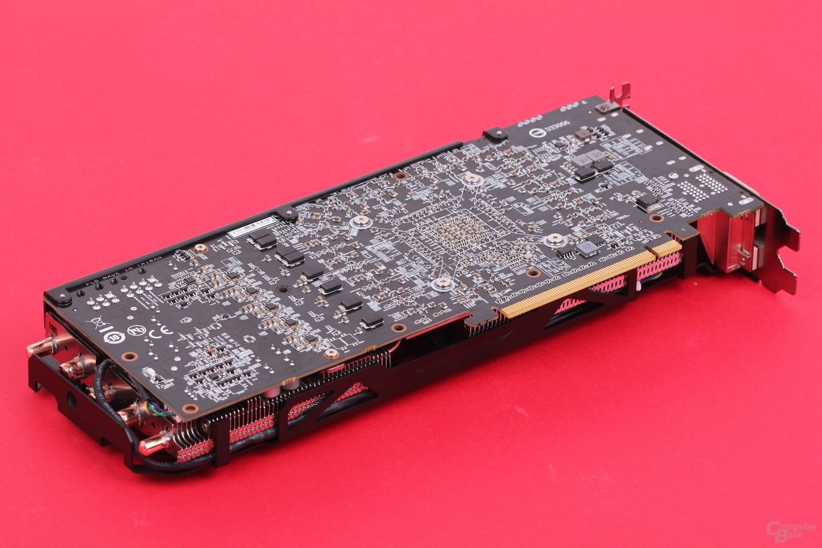 Gigabyte Radeon R9 290X WindForce – PCB Rückseite