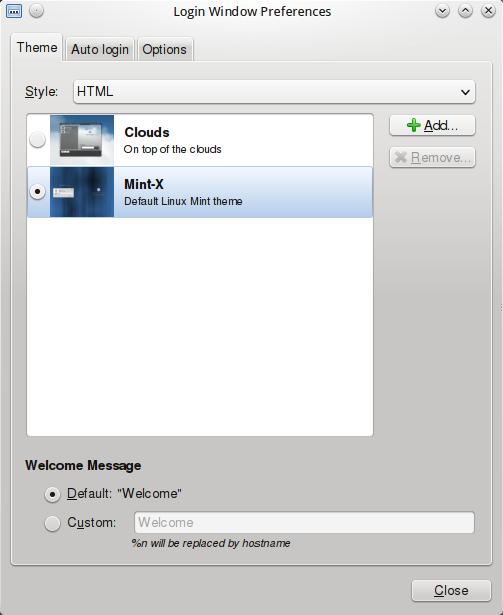 KDE mit MDM