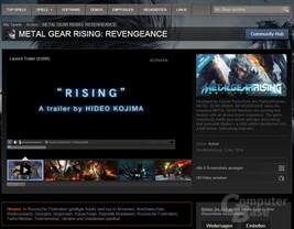 Regionsbeschränkung für Metal Gear Rising
