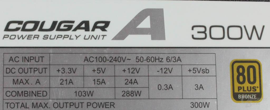 Cougar A300 rev3 Datenblatt