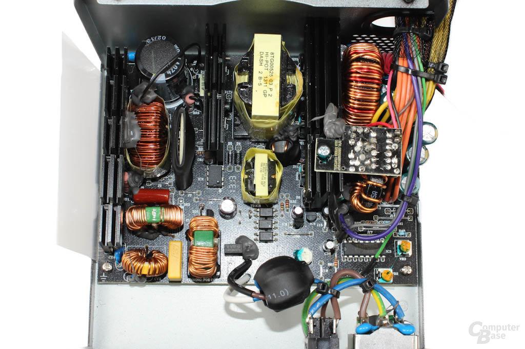 be quiet! Pure Power L8 300W - Überblick Elektronik