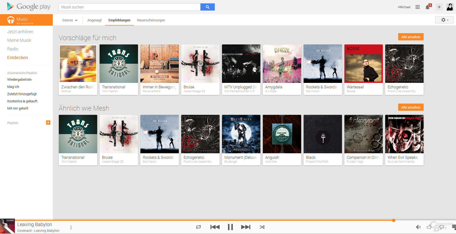 Google Music All-Inclusive
