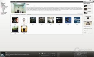 bilder 6 musik streaming im test deezer google napster spotify und co computerbase. Black Bedroom Furniture Sets. Home Design Ideas