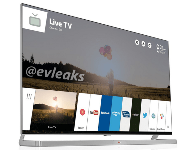 LG Smart-TV mit webOS