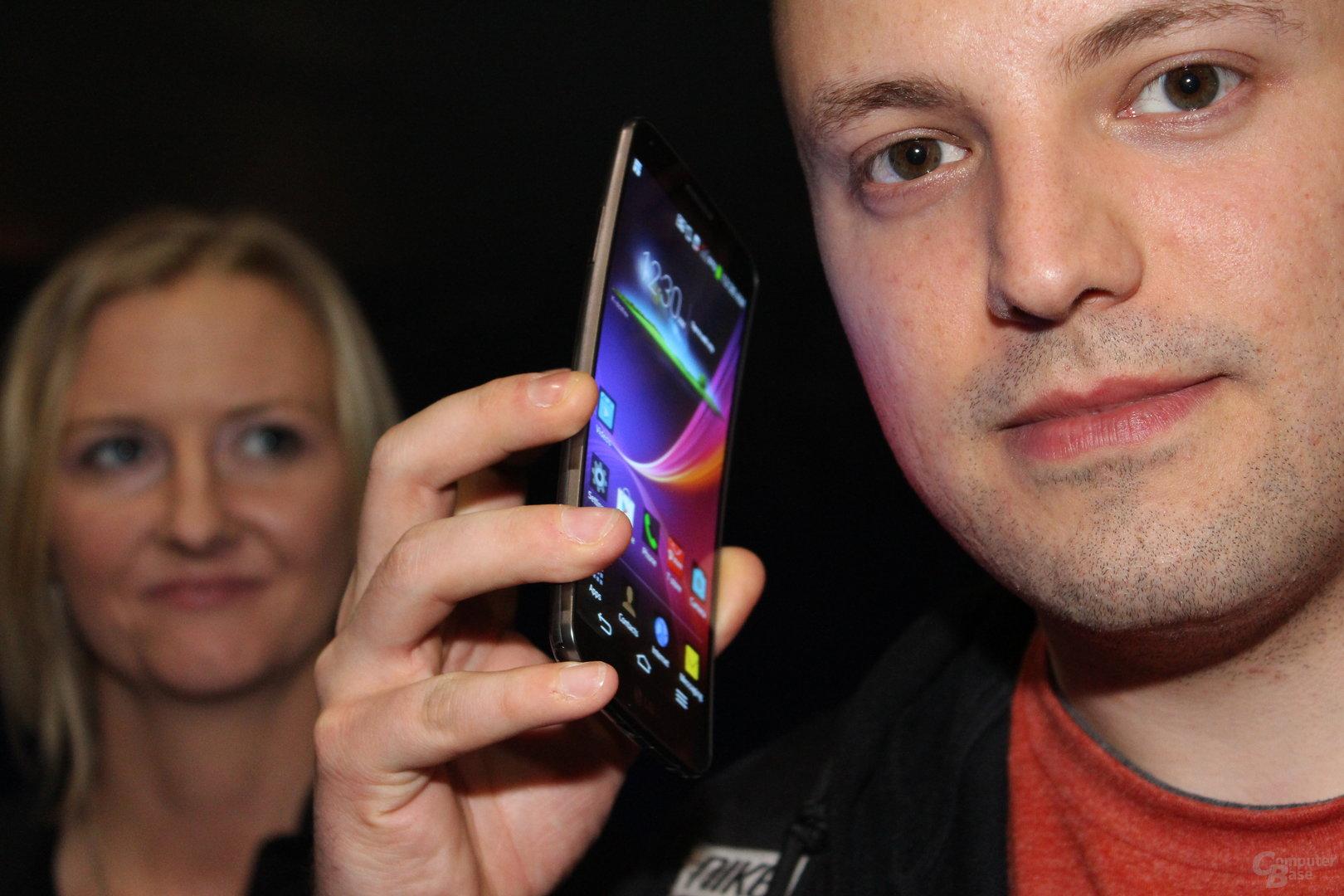 LG G Flex zeigt sich zur CES 2014