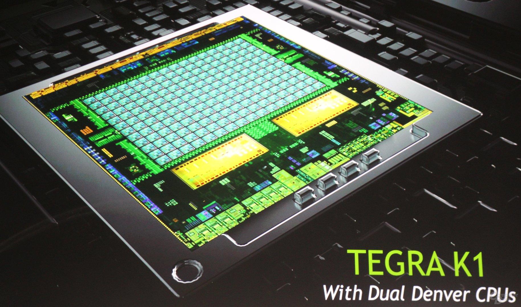 Nvidia Tegra K1 auch als Dual-Denver-Version