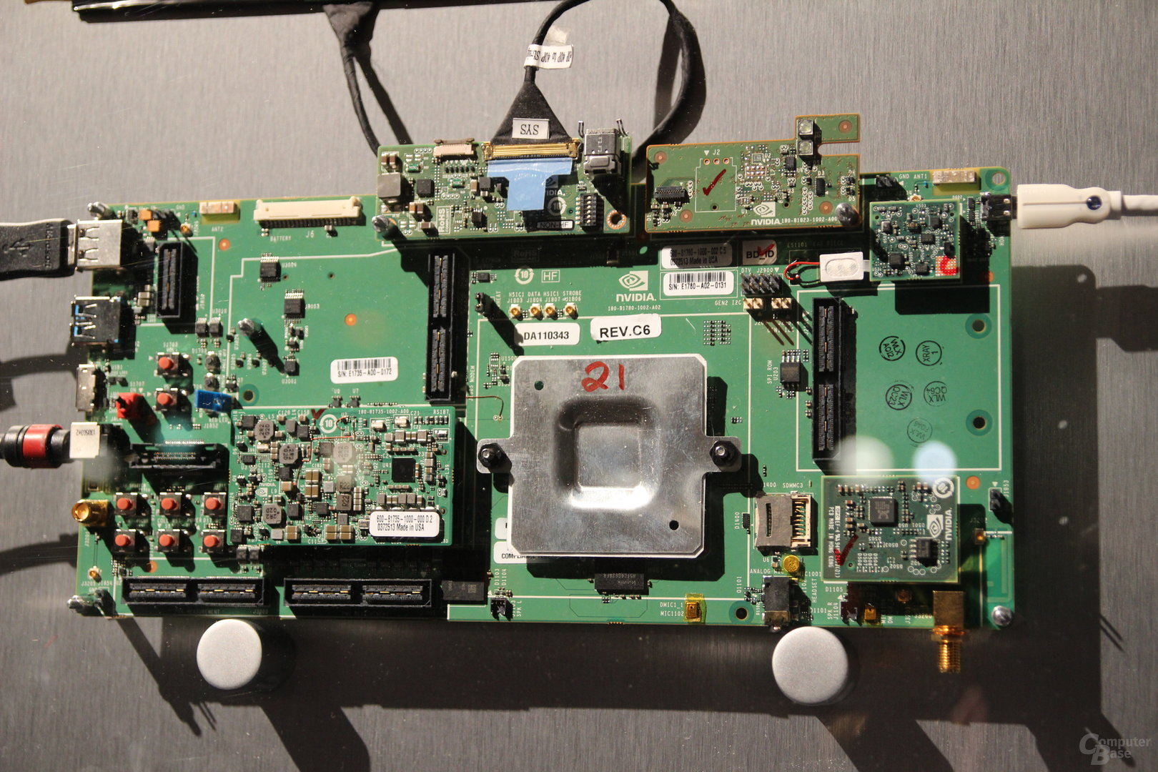 Nvidia Tegra K1 Referenzplatine