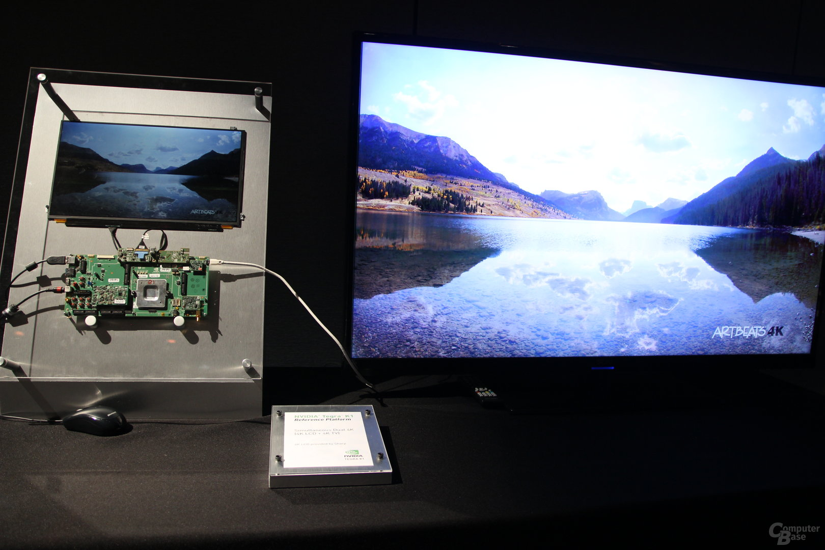 Natives Ultra HD mit Tegra K1