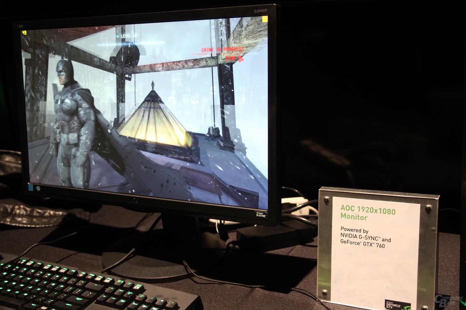 AOC-Monitor mit Nvidias G-Sync
