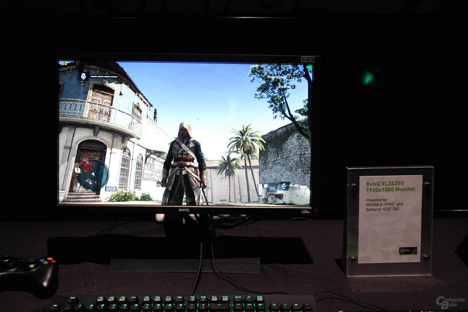 BenQ-Monitor mit Nvidias G-Sync